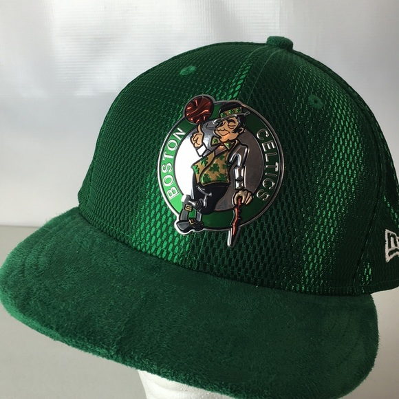15d3b001 NEW Boston Celtics Hat NBA On Court Fitted 59Fifty.  M_5afc78f62c705d53ac092953